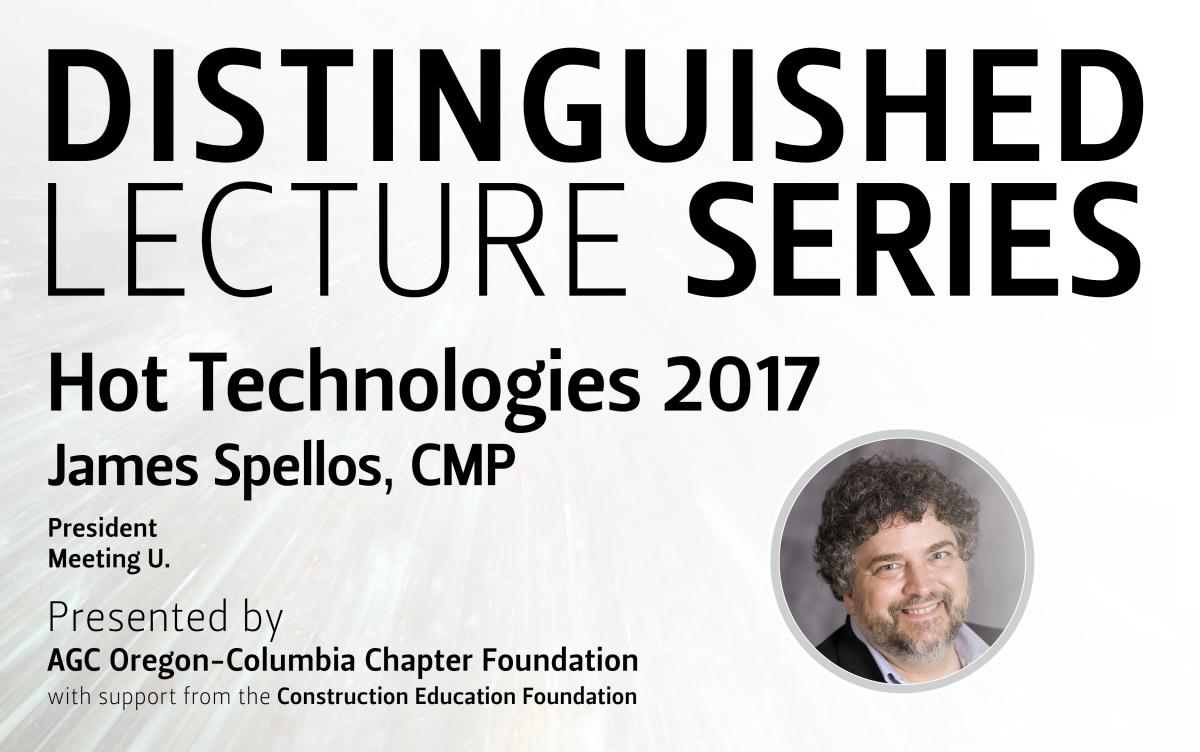 CCE Distinguished Lecture Series James Spellos